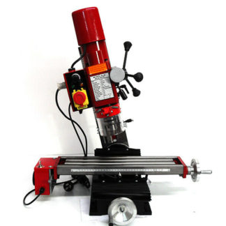 550W Tilting Head Milling Machine 460mm Long Table, Variable Speed